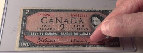 The Story Behind the 1974 Canadian Two Dollar Banknote Image